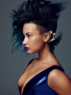 Get an Exclusive Look At #DemiLovato's Allure Photo Shoot.