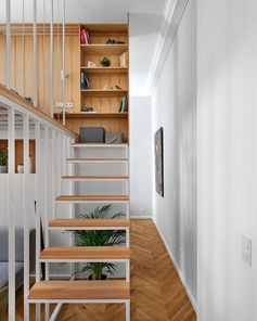 A Mezzanine Was Built To Add A Second Bedroom To This Apartment