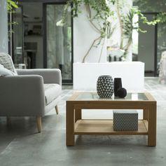 Cette table basse sera idéale pour un intérieur à la fois contemporain et élégant. #tikamoon