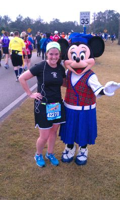 Meg from Borrowed Heaven: Her first half marathon and she did it at Disney!  I want to do this too:)