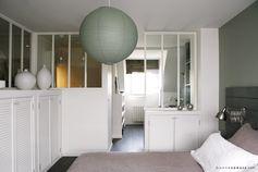 bonnesoeurs decoration suite parentale 01 chambre verriere blanche rangements maconnes