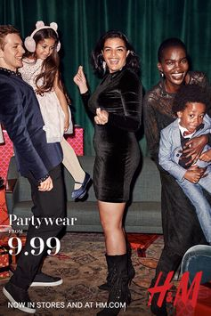 Glitter and Glam- get this season's key partywear pieces! Find everything you need to own the room this Christmas, in stores and athm.com.