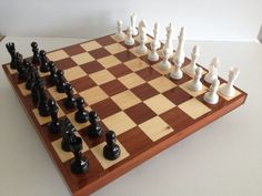 Hi all, here's my last project. The chess board has been made in wood and all the chess pieces were printed in ABS and acetone smoothed. They are specially designed to be 3d printed and the only one that need supports (included in the design) is the knight. My youtube channel about the Prusa I3 MK2 https://www.youtube.com/channel/UCz-zQZcKcvEDdd9C9hOKYWg... #toysandgames #prusamini #prusai3