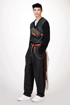 Louis Vuitton Men's Fall-Winter 2017 Collection by Kim Jones - Look 12