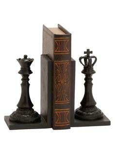Chess Bookends (Set of 2) by UMA