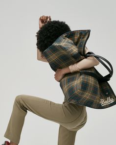Bally Canvas Duffle Tote