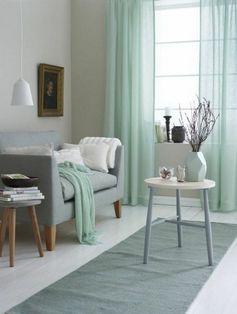 deco salle de sejour gris et bleu vert amenager une chambre en longueur idee deco