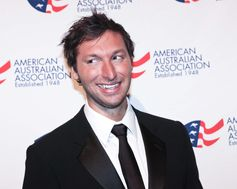Five time  Olympic gold medal winner Ian Thorpe at the American Australian Association  Benefit Dinner