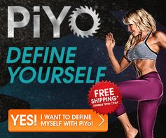 No Weights. No Jumps. Just Hardcore Results. DEFINE YOURSELF with PiYo!