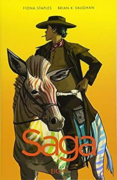 Amazon.com: Saga Volume 8 (9781534303492): Vaughan, Brian K, Staples, Fiona: Books