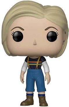 Funko Pop Television: Doctor Who - Thirteenth Doctor Collectible Figure, Multicolor, Standard Funko