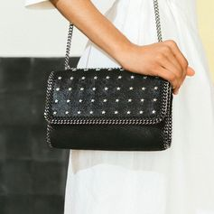 Stars in your eyes? Ours too. The iconic #Falabella cross-body gets a star-studded update for summer.
