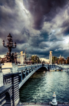 Bridge Alexander III - Paris, France
