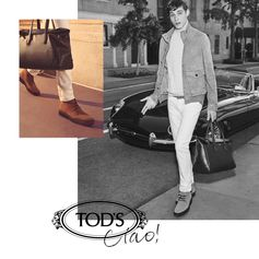 Be inspired by our Italian lifestyle: #CiaoByTods is a world of unique details. Discover more at www.tods.com