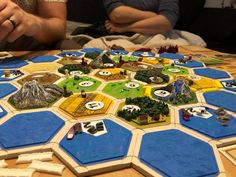 Magnetic Catan Board printed by Julian Dahan #toysandgames #prusai3 #mmu2