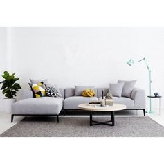 The Danielle Grey Modular Sofa