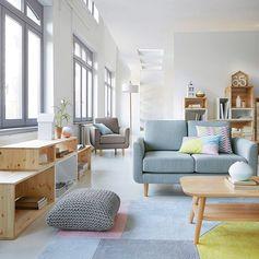 """Teppich """"Dario"""", getuftete Baumwolle, 2 Grössen La  Redoute Interieurs 120 cm, Länge: 170 cm.  für 179 EUR"""