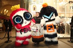 Who wouldn't party with Fendirumi? Naomi Watanabe is surely in for the celebration at #FendiOmotesando!