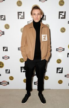 Jamie Campbell Bower at the FF Reloaded Experience in London.