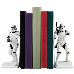 Stormtrooper Bookends on Amazon
