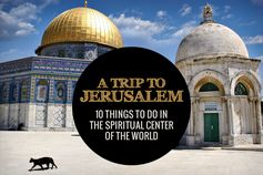 A city full of history and tradition, Jerusalem is a place like no other. No matter what religion you are, this holy city will offer a spiritual experience you won't forget...