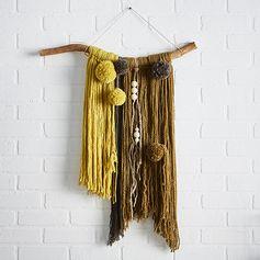 Création tissage #zodio #décoration #tissage #DIY #création #tendance #brut