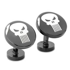 The Punisher Cufflinks - Movies & Characters Cufflinks - Cufflinks | CuffLinks.com