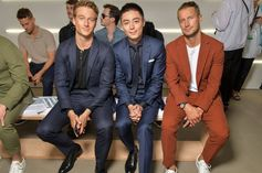 Meet the celebrities, style stars and other guests who attended the BOSS Menswear Spring/Summer 2018 fashion show