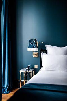 Hôtel Providence Paris - bleu comme le ciel et profond comme mes rêves