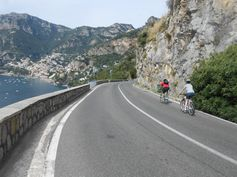 Downhill to Positano.