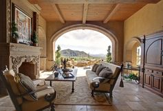 Mediterranean Porch by Fratantoni Luxury Estates