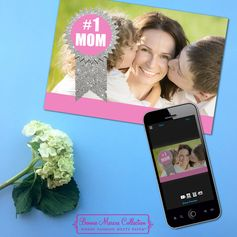 Have some great photos on your phone? Add a special touch to your Mother's Day card with a photo. You can make card right on your smartphone with the My Kodak Moments app. Download it for iOS to get started.
