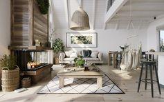 Une maison triangulaire au design scandinave - PLANETE DECO a homes world