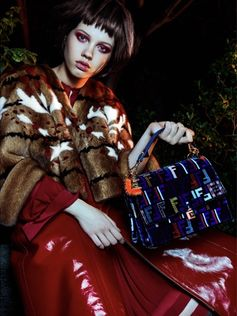 FENDI Fall/Winter 2017-18 in AEWorld Magazine by Fouad Tadros