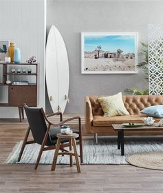 Mid-Century Modern and Coastal space © Temple & Webster