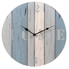 Horloge plein large