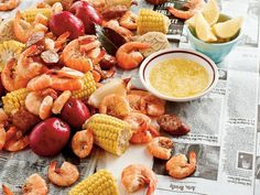 This classic shrimp boil recipe is a wonderful, easy way to prepare fresh shrimp. No Lowcountry shrimp boil is complete without adding hearty helpings of sausage, corn, and potatoes, but additional touches such as aromatic vegetables, seafood boil seasoning, and a bottle or two of beer bring the feast's flavor up another level. Test kitchen tip: Make sure to add the ingredients in the stages, like the order listed below. This ensures each element is cooked just right, resulting in a crowd-...