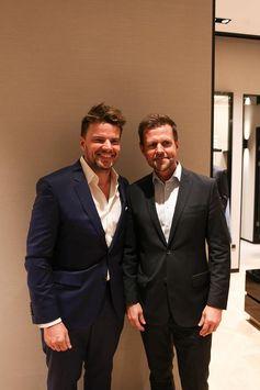Bjarke Ingels and Karl Erik Stougaard