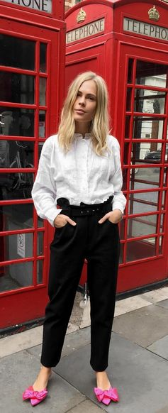 Today's LFW look is sorted for Jessie Bush from We The People Style with a quick same-day delivery. ➡️ Get the look ion Farfetch now.
