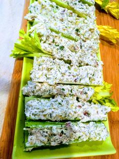 Mom's Stuffed Celery a.k.a Celery Crack (Ketogenic, low-carb) – The Paleo/Keto Guided Lifestyle