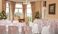 River Room Wedding Ceremony at The Petersham Hotel in Richmond nr #London