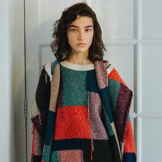 Patchwork, argyle and arrows are the statement patterned knits of the season.