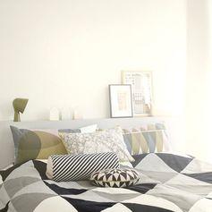 Granc couvre-lit en coton biologique Ferm Living sur Decoclico