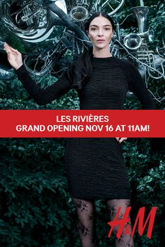 Les Rivières Grand Opening Nov 16 at 11am!