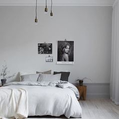 Cosy bedroom interior inspo via the stylish @eklundstockholmnewyork #interiordesign #styling #danishdesign #scandinaviandesign