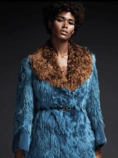 FENDI Fall/Wall 2017-16 seen in EBONY Mag, Sept 17
