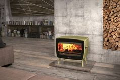 A totally new but vintage design for this cute little stove named Vintage 50. © Dovre