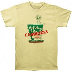 Dead Kennedys Holiday In Cambodia Slim Fit T-shirt (Size: Medium)
