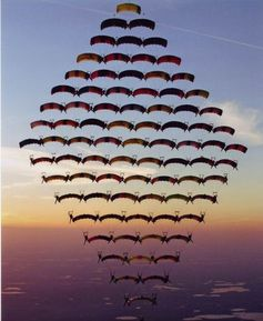 this is so cool.  skydivers