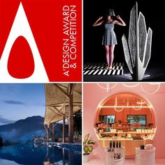 A' Design Award & Competition is  the Worlds' leading design accolade reaching design enthusiasts in over  180 countries in 40 languages.